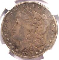 1895-S MORGAN SILVER DOLLAR $1 - NGC VF DETAILS -  CERTIFIED COIN