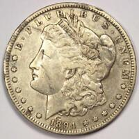 1894 MORGAN SILVER DOLLAR $1 COIN 1894-P - EXTRA FINE  DETAILS SCRATCHED -  DATE