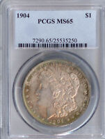 1904 MORGAN DOLLAR MINT STATE 65 PCGS PA25535250