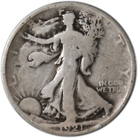 1921-P WALKING LIBERTY HALF GREAT DEALS FROM EXECUTIVE COIN COMPANY - BBHW9043