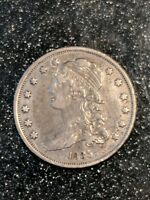 1835 CAPPED BUST QUARTER SHARP XF BEAUTY