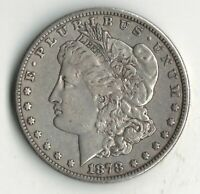 1878 S TOP 30 VAM 16 DOUBLED RIB MORGAN SILVER DOLLAR SHIPS FREE