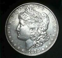 1878 7TF REV OF 78 VAM 160 MORGAN DOLLAR SHIPS FREE