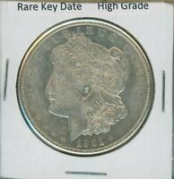 1921 S MORGAN DOLLAR $1 US MINT  KEY DATE SILVER COIN 1921-S HIGH GRADE