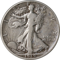 1919-D WALKING LIBERTY HALF GREAT DEALS FROM EXECUTIVE COIN COMPANY - BBHW9047