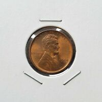 1909 VDB LINCOLN WHEAT CENT RB - UNCIRCULATED BU - BETTER DATE
