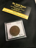 1848 PHILADELPHIA MINT COPPER BRAIDED HAIR LARGE CENT