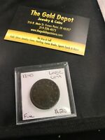1845 PHILADELPHIA MINT COPPER BRAIDED HAIR LARGE CENT