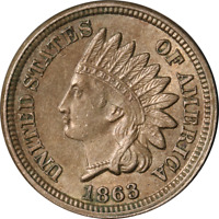 1863 INDIAN CENT GREAT DEALS FROM THE EXECUTIVE COIN COMPANY