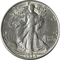 1934-D WALKING LIBERTY HALF GREAT DEALS FROM THE EXECUTIVE COIN COMPANY BBHW8883