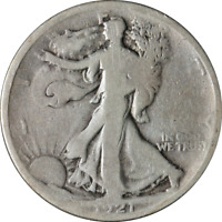 1921-P WALKING LIBERTY HALF GREAT DEALS FROM EXECUTIVE COIN COMPANY - BBHW8793