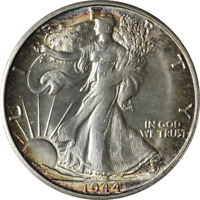 1944-S WALKING LIBERTY HALF GREAT DEALS FROM EXECUTIVE COIN COMPANY - BBHW8847