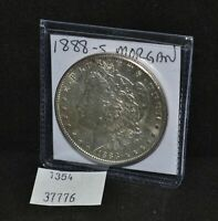 WEST POINT COINS  1888-S MORGAN SILVER DOLLAR $1.00