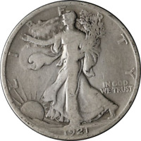 1921-S WALKING LIBERTY HALF GREAT DEALS FROM EXECUTIVE COIN COMPANY - BBHW7642