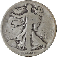 1921-P WALKING LIBERTY HALF GREAT DEALS FROM EXECUTIVE COIN COMPANY - BBHW8747