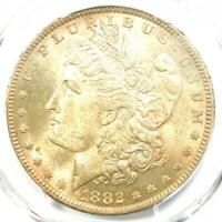 1882-O/S MORGAN SILVER DOLLAR $1 STRONG - PCGS MINT STATE 64 -  VARIETY - $1600 VALUE