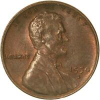1950 S LINCOLN WHEAT CENT ABOUT UNCIRCULATED PENNY AU