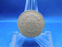 1868 US SHIELD NICKEL VERY GOOD