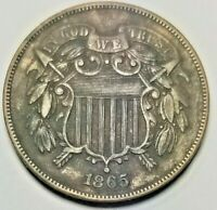 1865 TWO CENT PIECE 1081