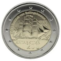 ESTONIA   2  EURO COMMEMORATIVE COIN 2020   200 YEARS DISCOVERY ANTARCTICA UNC