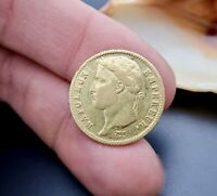 COLLECTORS GOLD COIN   1812 20 FRANC NAPOLEON I    FRENCH GOLD COIN
