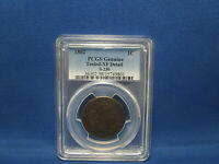1802 DRAPED BUST LARGE CENT EXTRA FINE  TOOLED PCGS