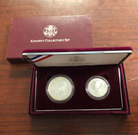 1998 KENNEDY COLLECTORS SET   TWO COIN COMMEMORATIVE SET  19