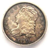1831 CAPPED BUST  DIME 10C COIN - CERTIFIED ICG MINT STATE 60 UNC - $812 VALUE