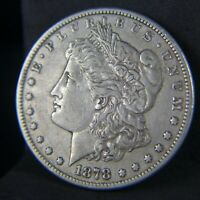 1878 CC MORGAN SILVER DOLLAR CIRCULATED CARSON CITY MINT XF