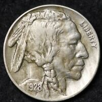 1928-P Buffalo Nickel ~ VERY GOOD VG Condition ~ $20 ORDERS SHIP FREE!