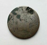 1797 LIBERTY CAP FLOWING HAIR HALF CENT DAMAGED CULL