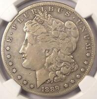 1889-CC MORGAN SILVER DOLLAR $1 - NGC VF DETAILS -  CARSON CITY COIN