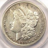 1892-S MORGAN SILVER DOLLAR $1 COIN - CERTIFIED ANACS EXTRA FINE 40 DETAILS -  DATE