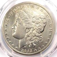 1893-CC MORGAN SILVER DOLLAR $1 COIN - CERTIFIED PCGS EXTRA FINE  DETAIL EF - LOOKS AU