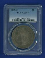 1897 O PCGS AU53 MORGAN DOLLAR $1  KEY DATE 1897-O PCGS AU-53 UNDER GRADED