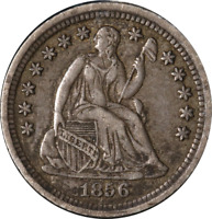 1856-O SEATED LIBERTY HALF DIME GREAT DEALS FROM THE EXECUTIVE COIN COMPANY
