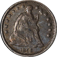 1859-O SEATED LIBERTY HALF DIME GREAT DEALS FROM THE EXECUTIVE COIN COMPANY