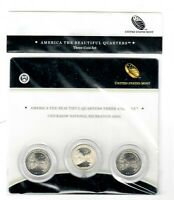 2011   CHICKASAW NATIONAL RECREATION COIN SET P D S AMERICA
