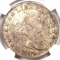 1806 DRAPED BUST HALF DOLLAR 50C O-115A - NGC EXTRA FINE  DETAIL -  CERTIFIED COIN