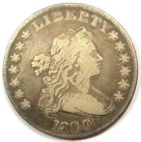 1800 DRAPED BUST SILVER DOLLAR $1 - FINE DETAILS -  TYPE COIN