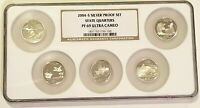 2004 S SILVER PROOF SET STATE QUARTERS NGC PF69 ULTRA CAMEO