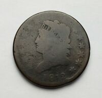 1812 CLASSIC HEAD LARGE CENT FULL DATE