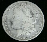 1900-O MORGAN SILVER DOLLAR VG IN SAFLIP FM056