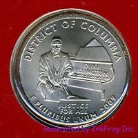 2009 P & D DISTRICT OF COLUMBIA QUARTERS CHOICE/GEM BU NO RE