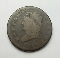 1808 CLASSIC HEAD LARGE CENT GOOD