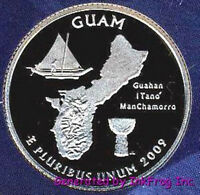 2009 S CLAD GUAM DEEP CAMEO GEM PROOF NO RESERVE