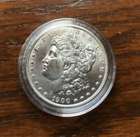 1900-O MORGAN SILVER DOLLAR IN BU CONDITION