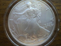 2003   $1  SILVER  EAGLE, BRILLIANT UNCIRCULATED