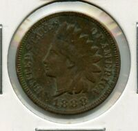 1888 INDIAN HEAD CENT PENNY 1C COIN - RY545