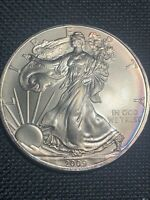 2009 WALKING LIBERTY SILVER EAGLE AMERICAN MINT  17163